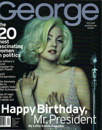 drew barrymore george magazine cover girl