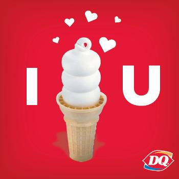 love dairy queen