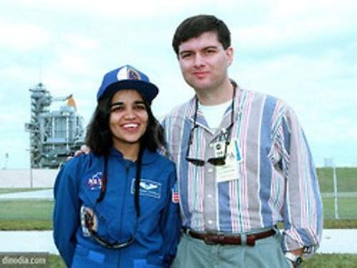 kalpana chawla with husband