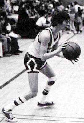 kevin coster playing basketball
