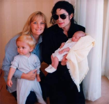 mj with family