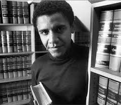 obama with books