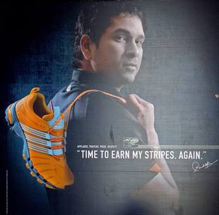sachin endorsements