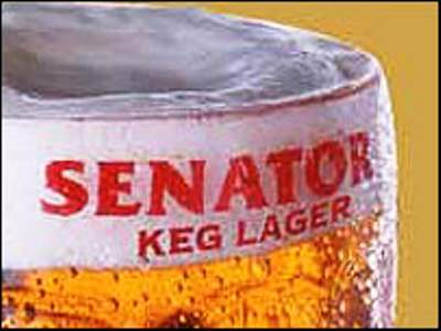 senator keg beer