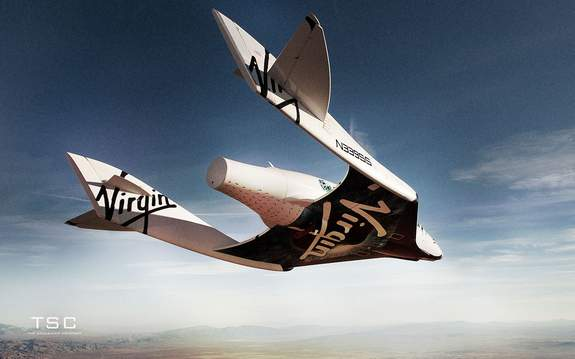 Virgin Galactic Spaceship-Two
