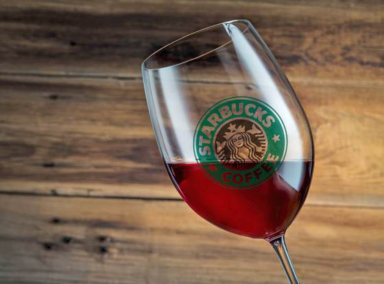 starbucks wine