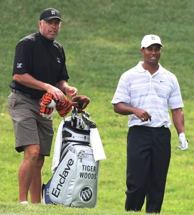 tiger woods and his caddy steve williams