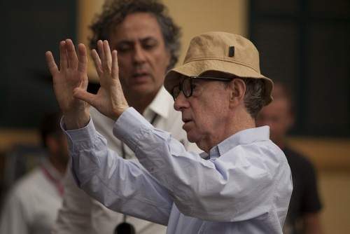 woody allen behind the scenes