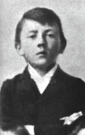 Adolf Hitler as a child