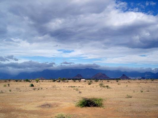 Agasthiyamalai range and Tirunelveli rainshadow
