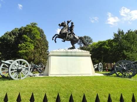 Andrew Jackson sculpture, Lafayette Square