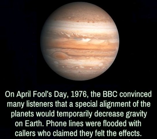 BBC April Fools Day 1976