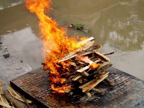 Bagamati cremation