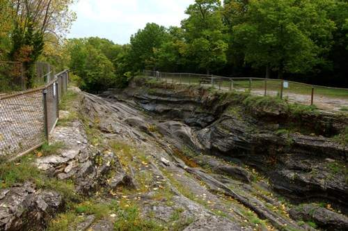 Glacial Grooves, Kelley's island