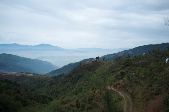 Hiking trail Nagarkot