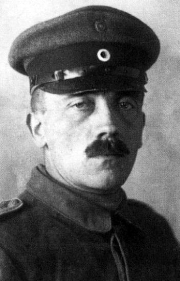 Hitler during world war 1