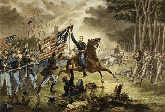 Kearny's Charge, Battle of Chantilly