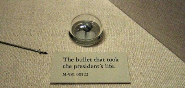 Lincoln's Assassination Bullet