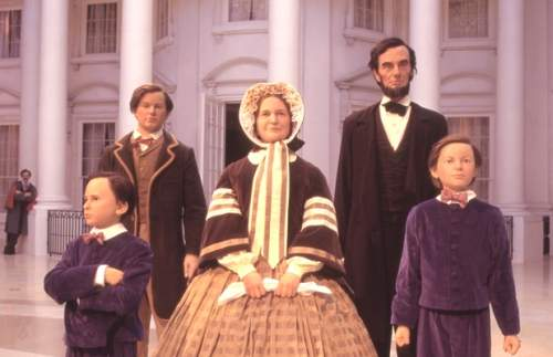 Lincoln Family in Abraham Lincoln Museum