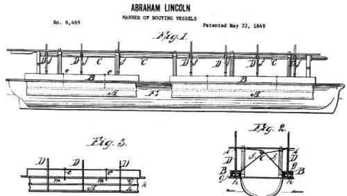 Lincoln patent design