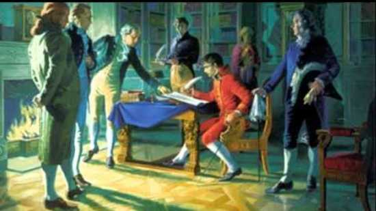 Louisiana purchase signing of treaty