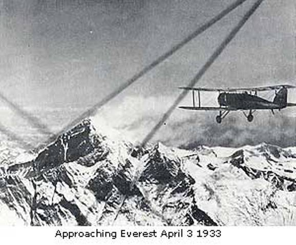 Mount Everest first flight