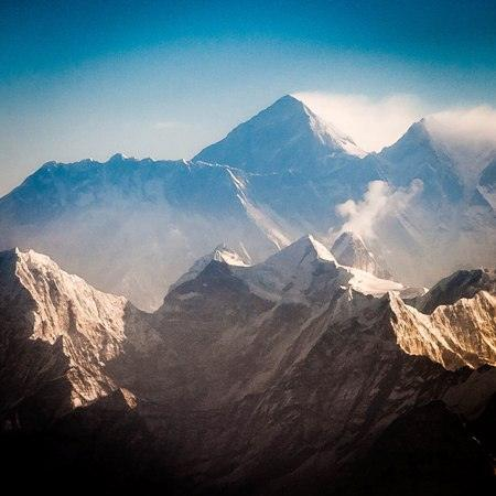 Mount Everest morning