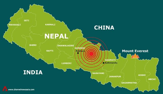 Nepal Earthquake Epicenter