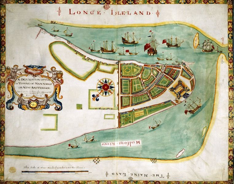 New Wark Was Known As New Amsterdam
