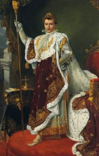 Portrait of the Emperor Napoleon Bonaparte