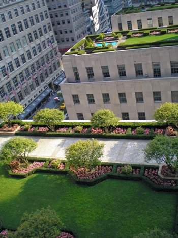 Rockefeller Center Rooftop Gardens