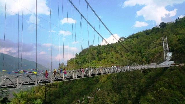 Singshore Bridge Sikkim