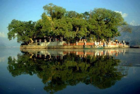 Taal barahi fewa lake