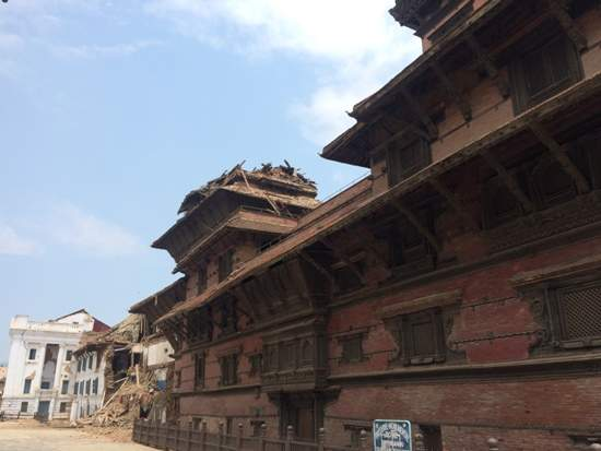 Temple of Kathmandu, Durbar Square after 2nd Earthquake