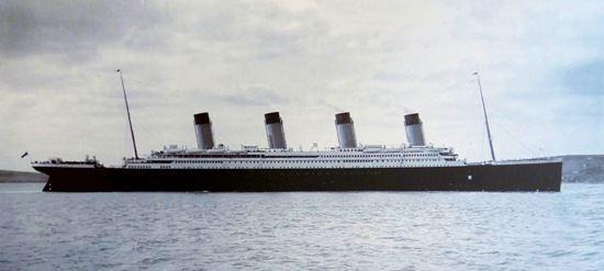 Titanic Cobh Harbour 1912