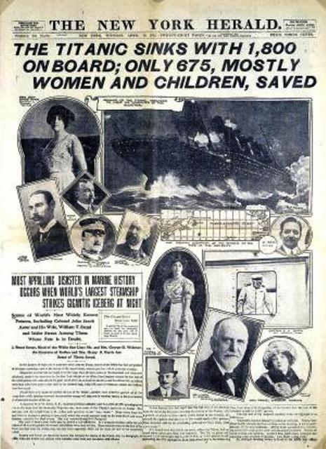Titanic women and children first