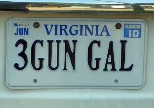 Virginia vanity plate