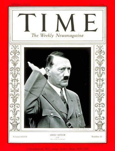 hitler time magazine