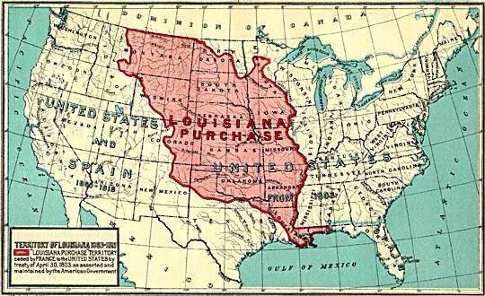 louisiana and the louisiana purchase