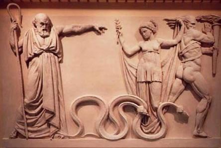 saint patrick and snakes