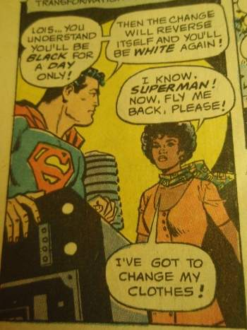superman's girlfriend Lois Lane