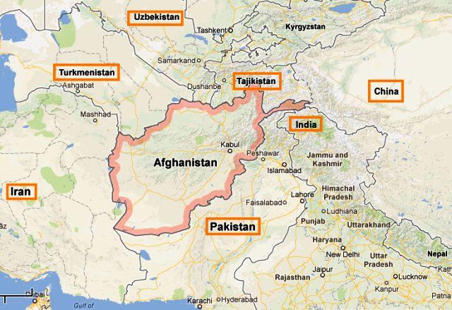 Afghanistan Landlocked Country