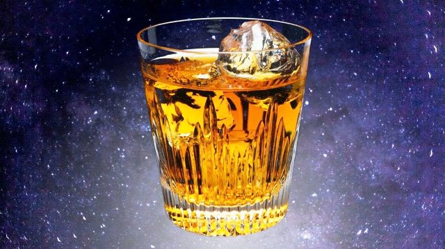 Alcohol In Space