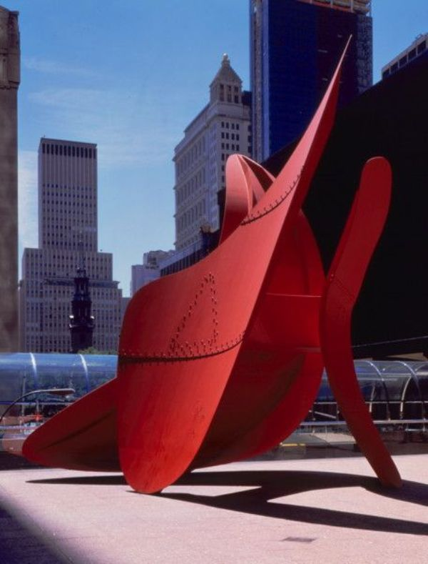 Alexander Calder Sculpture, Bent Propeller Outside the World Trade Center