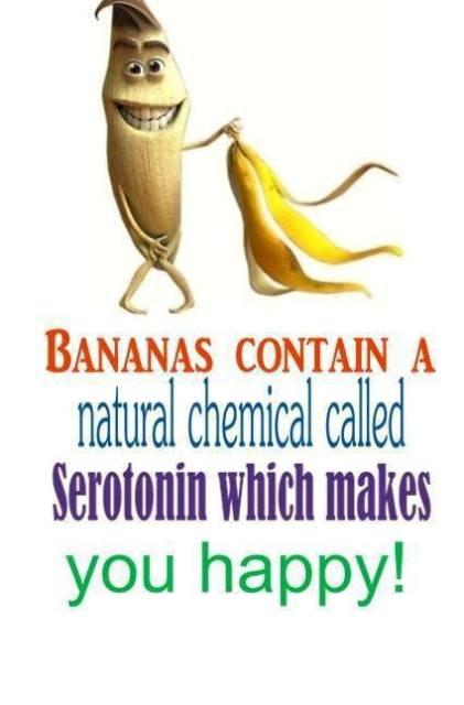 Banana Serotonin Content