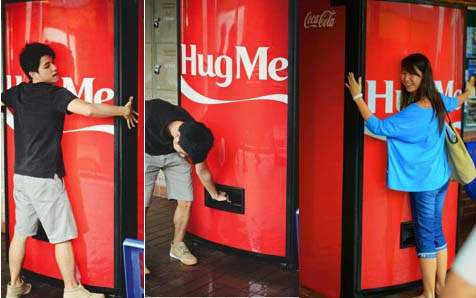 Coca-Cola Hug Machine