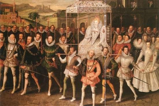 Elizabeth I, Procession