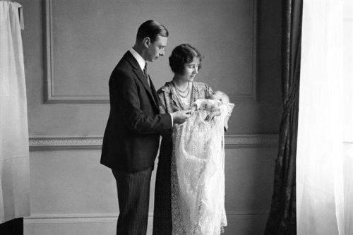 Infant Queen Elizabeth