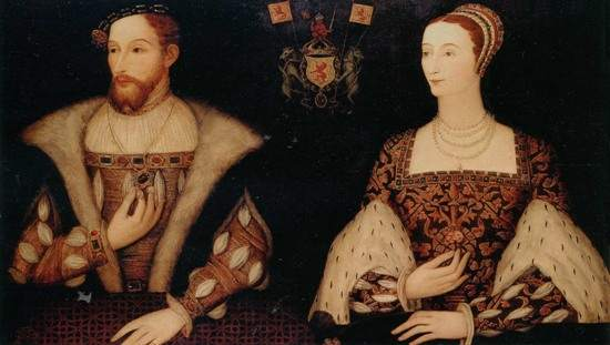 James V and Mary of Guise