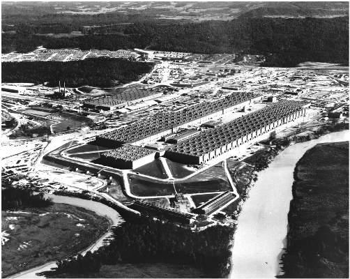K-25 Aerial view